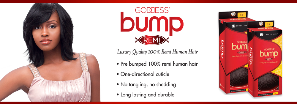 Remi Human Hair Weave Sensationnel Goddess Bump Yaki 8 Samsbeauty