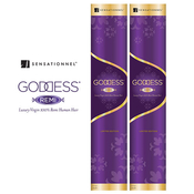 Remi Human Hair Weave Sensationnel Goddess Limited Edition 10 12