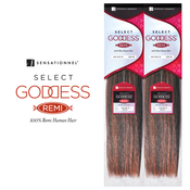 Remi Human Hair Weave Sensationnel Goddess Select Yaky 10S