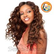 Indian Human Hair Weave Sensationnel Fire AMP; Water Wet AMP; Wavy Heat Wave