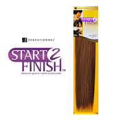 Human Hair Weave Sensationnel Start 2 Finish Total Yaki