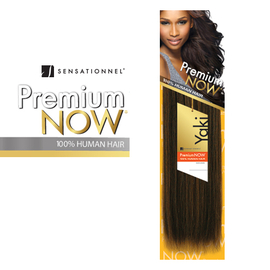 100 Human Hair Weave Sensationnel Premium Now Yaki