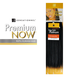 100 Human Hair Weave Sensationnel Premium Now Yaki 10