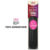 Indian Remi Human Hair Weave New Born Free Idol Yaki