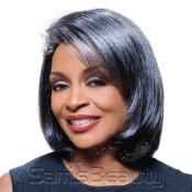 Synthetic Hair Wig Alicia Foxy Silver Jamie