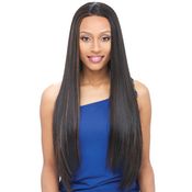 Janet Collection Synthetic Whole Lace Wig Elf