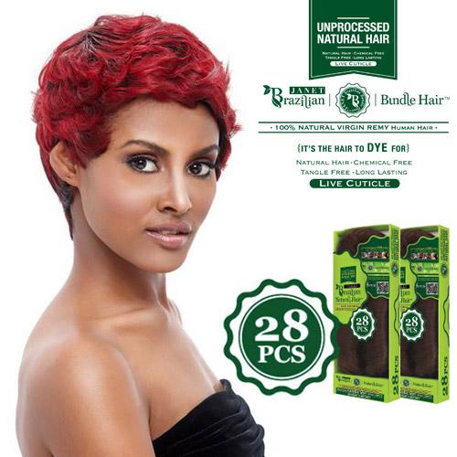 Janet collection unprocessed brazilian virgin remy human hair janet collection unprocessed brazilian virgin remy human hair weave natural weft 28pcs samsbeauty pmusecretfo Images