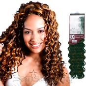 Human Hair Blend Braids Unico JJ Collection Deep Wave 18