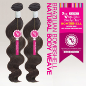Janet Unprocessed Brazilian Virgin Remy Human Hair Weave Bombshell Natural Body Wave