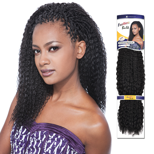 FreeTress Synthetic Hair Crochet Braids Brazilian Braids 20 ...