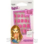 Kid Care Bratz 24 Stick On Nails in Petite Sizes