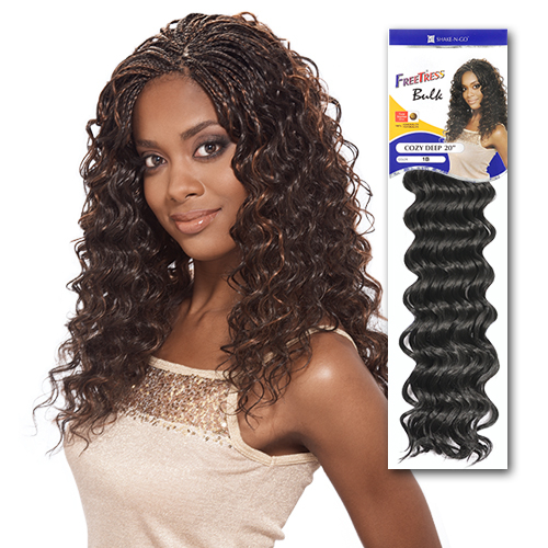 Freetress Synthetic Hair Crochet Braids Cozy Deep 20