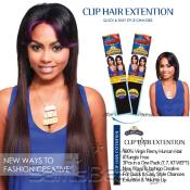 Clip on Weave KARA Remy Blue Clip Hair Extention