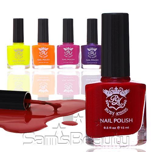 Ruby Nail Polish: Ruby Kisses Nail Polish