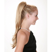 Lord AMP; Cliff Synthetic Drawstring Ponytail Think Pink VictoriaL