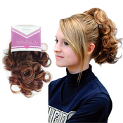 Lord AMP; Cliff Synthetic Drawstring Ponytail Think Pink Cheer Leader II