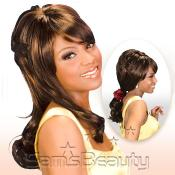 Synthetic Hair Wig Euro Collection Ponytail Lilac