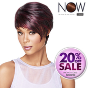 LUXHAIR NOW By Sherri Shepherd Synthetic Hair Wig Sleek Angle