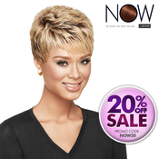 LUXHAIR NOW By Sherri Shepherd Synthetic Hair Wig Textured Pixie