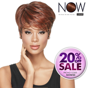 LUXHAIR NOW By Sherri Shepherd Synthetic Hair Wig Tapered Tomboy