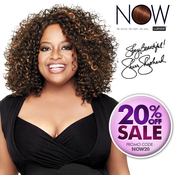 LUXHAIR NOW By Sherri Shepherd Synthetic Lace Wig CurlIntense
