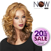 LUXHAIR NOW By Sherri Shepherd Synthetic Lace Wig Casual Curl