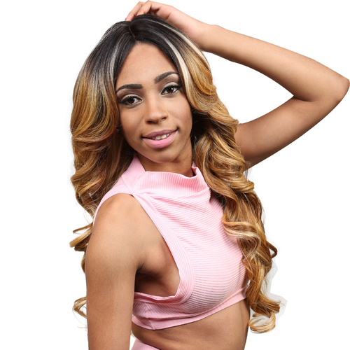 Synthetic Lace Front Wig Sensationnel Empress Natural