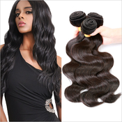 Live Unprocessed Brazilian Virgin Remy Human Hair Weave Body Wave 14~22