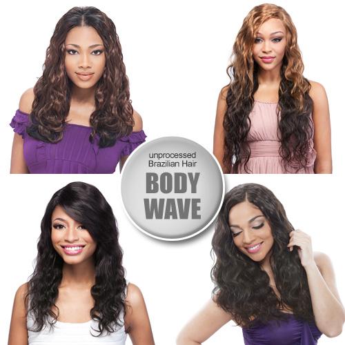 Live Unprocessed Brazilian Virgin Remy Human Hair Weave Body Wave 56