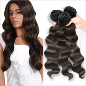 Live Unprocessed Brazilian Virgin Remy Human Hair Weave Ocean Wave 1222