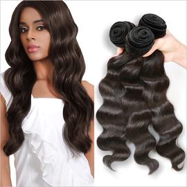 Live Unprocessed Brazilian Virgin Remy Human Hair Weave Ocean Wave 12 22