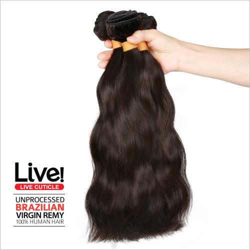 Live Unprocessed Brazilian Virgin Remy Human Hair Weave Body Wave 14