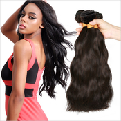 Live Unprocessed Brazilian Virgin Remy Human Hair Weave Natural Wave