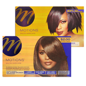 Motions  Salon Haircare Silkening Shine Relaxer System