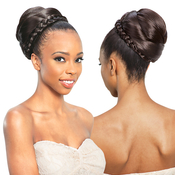 ModelModel Equal Synthetic Hair Dome Bun Top Kelly