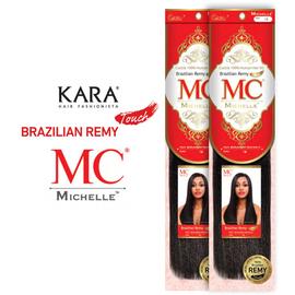 Michelle Human Hair Blend Weave Brazilian Remy Touch Yaki