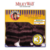 Milkyway Human Hair Weave Cupid Curl 3pcs Samsbeauty