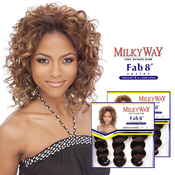 MilkyWay Human Hair Weave Fabulous Series French Twist 8