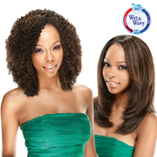 ModelModel Indian Remi Human Hair Weave Remist WetAMP;Wavy Jerry Curl 4Pcs