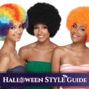 Synthetic Hair Wig ModelModel Glance Afro Wig
