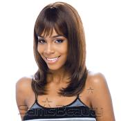 Human Hair Blend Wig Model Model Ikon Sahara