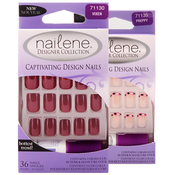 Nailene Captivating Design Nails 36 Nails 18 Sizes