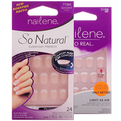 Nailene French 24 Nails in 12 Sizes