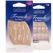 Nailene French So Real Nails 24 Nails 12 Sizes