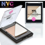 NYC New York Color Smooth AMP; Natural Matte Powder Foundation