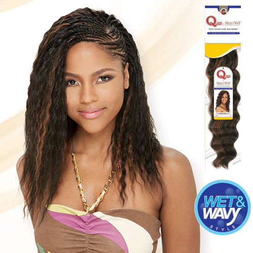 Human Hair Master Mix Braids Milky Way Que Natural Super