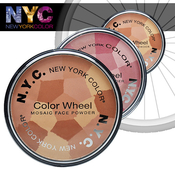 NYC New York Color Wheel Mosaic Face Powder