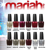 OPI Mariah Carey Holiday Nail Lacquer Collection 2013