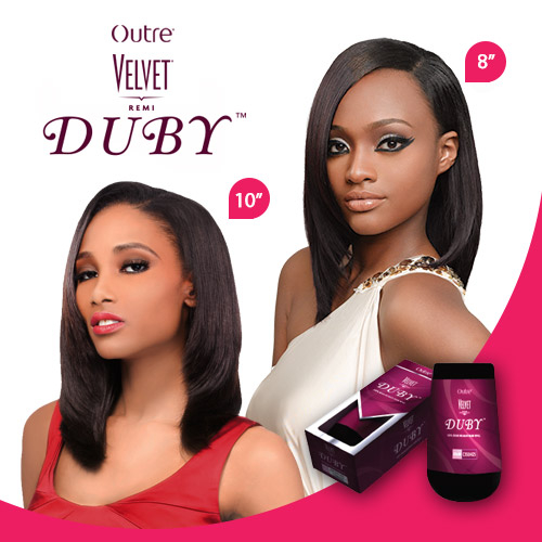 Outre Remy Human Hair Weave Velvet Duby 10