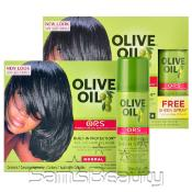 Organic Roots Stimulator Olive Oil Relaxer Kit With FREE Sheen Spray